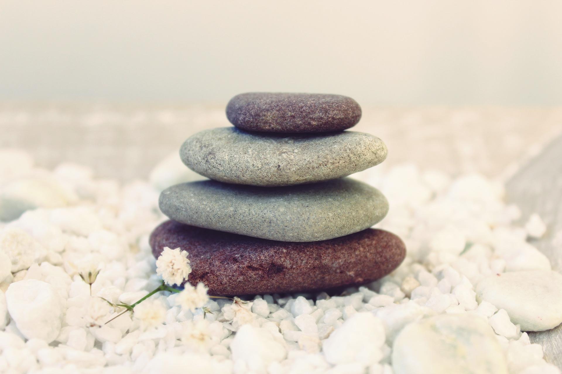 Wellness-Steine